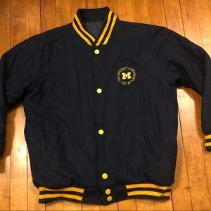 University of Michigan Wolverines Varsity Jacket